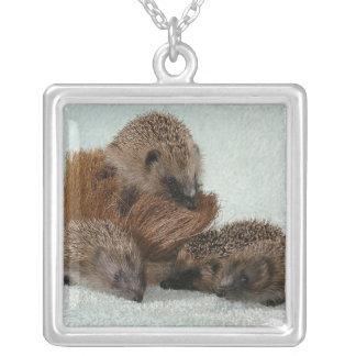 Baby Hedgehogs Necklace