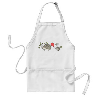 Baby Hedgehog's Red Balloon Adult Apron