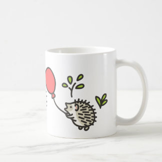 Baby Hedgehog's Red Balloon Coffee Mug