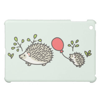 Baby Hedgehog's Red Balloon iPad Mini Covers