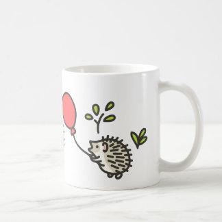 Baby Hedgehog's Red Balloon Mugs