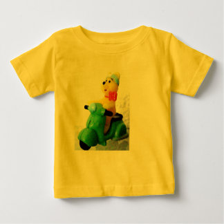 Baby herdsman with more scooter baby T-Shirt