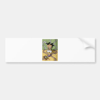 Baby hip Hop City Gangsta Bumper Sticker