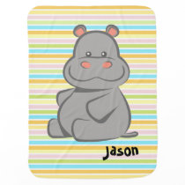Baby Hippo Baby Blanket