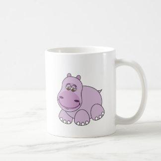 Baby Hippo Classic White Coffee Mug