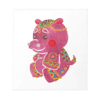 Baby Hippo Notepad