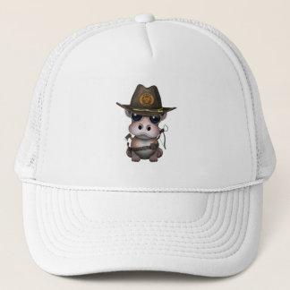 Baby Hippo Zombie Hunter Trucker Hat