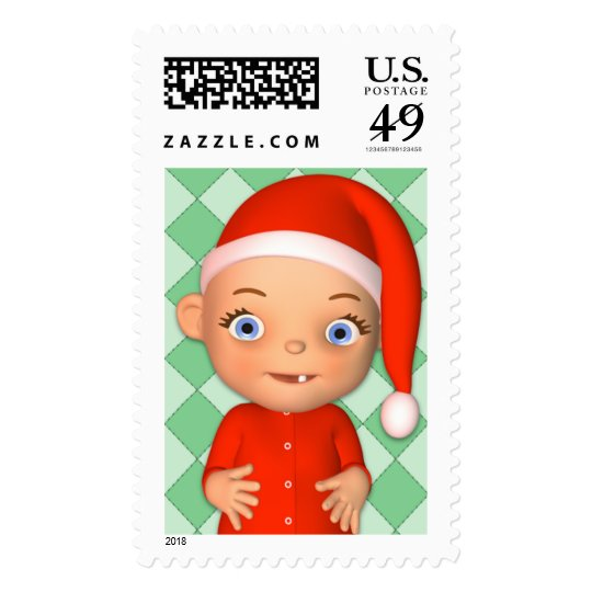 Baby Holiday Postage