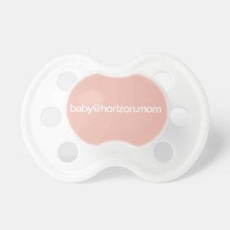 """""""baby@horizon.mom"""" Baby Pacifier"""
