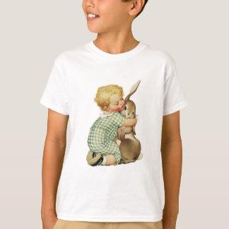 BABY HUGGING EASTER BUNNY T-Shirt