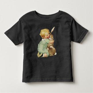 BABY HUGGING EASTER BUNNY TODDLER T-SHIRT