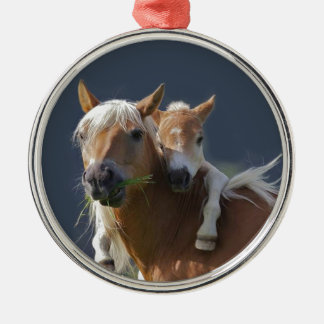Baby Hugs Metal Ornament