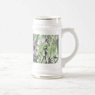 Baby Hummingbirds in a Nest Coffee Mug
