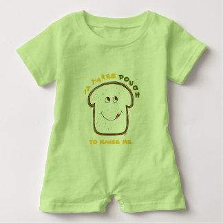 Baby Humor (green/yellow) Baby Romper