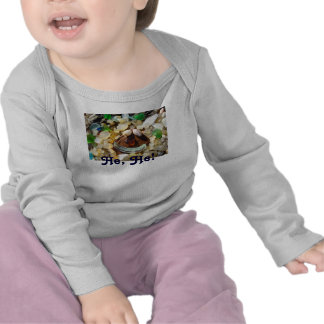 Baby Humor Laughing Smiley Face Tee Shirts Agates