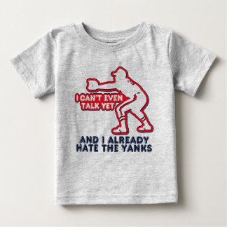 Baby Humor Yanks Hater Tee Shirt
