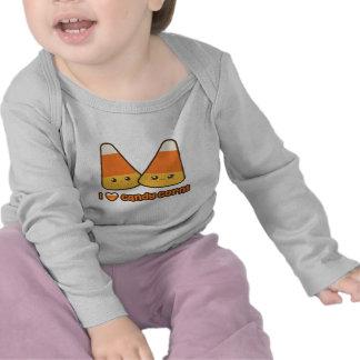 Baby - I Heart Candy Corn Tees