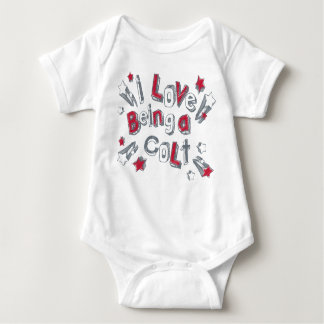BABY I LOVE BEING A COLT BABY BODYSUIT