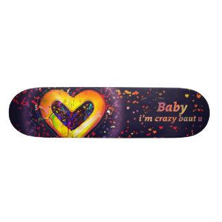 baby i m crazy baut u skate board
