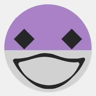 Baby Ichibo-Skee Clupkitz Adherent Classic Round Sticker