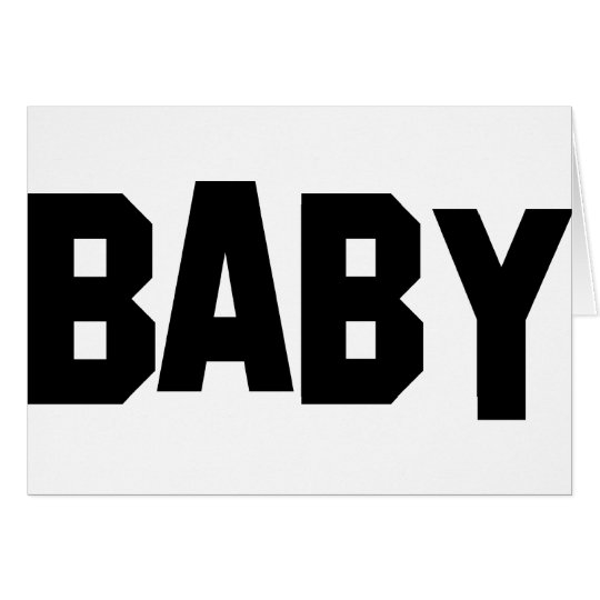 baby icon card