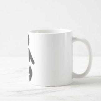 baby icon pregnant coffee mug