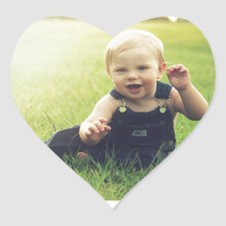 Baby Image Fash Heart Sticker