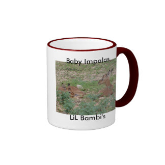 Baby Impalas/Antelope 15oz. Ringer Mug