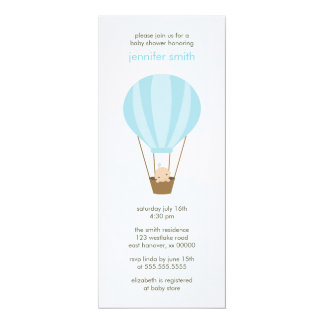 Baby in a Balloon Card