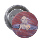 BABY IN A BATH PINBACK BUTTONS