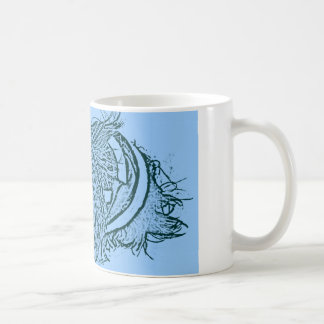 Baby In Blue Classic White Coffee Mug