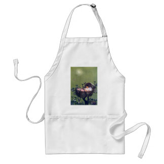 Baby in Cradle in Tree Lullaby Adult Apron
