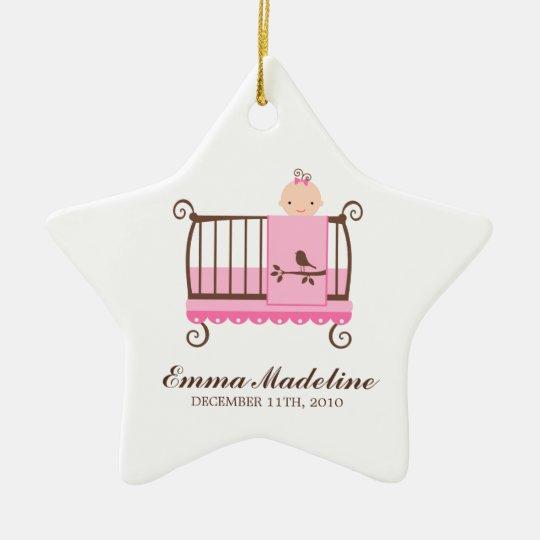 Baby in Crib Ornament