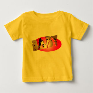 Baby in Gold Tee Shirt