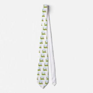 baby in park neck tie
