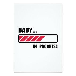 Baby in progress loading card