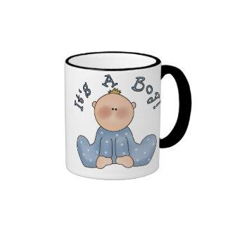 Baby in Sleeper It's a Boy Mug