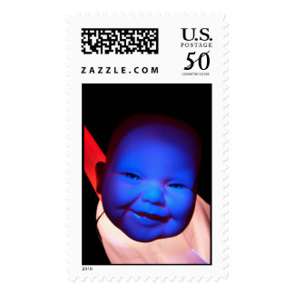 Baby in Space Postage