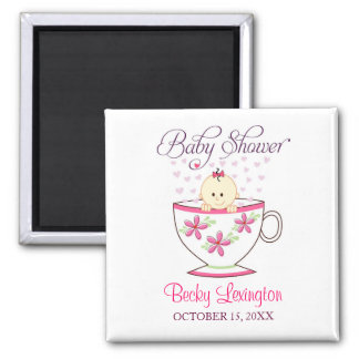 Baby in Tea Cup, Magnet Favors