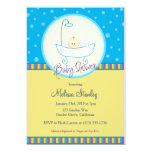 Baby In Tub Baby Shower Announcements