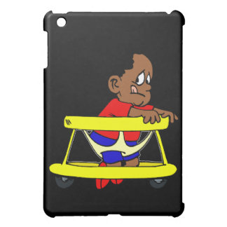 Baby in walker iPad mini covers
