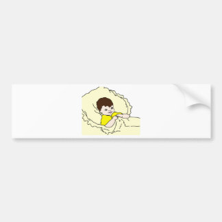 Baby In Yellow Bumper Sticker