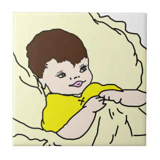 Baby In Yellow Tile