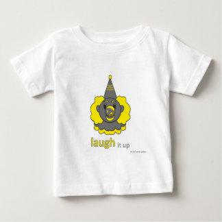 baby infant t-shirt - laugh it up