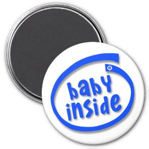 Baby Inside Magnet