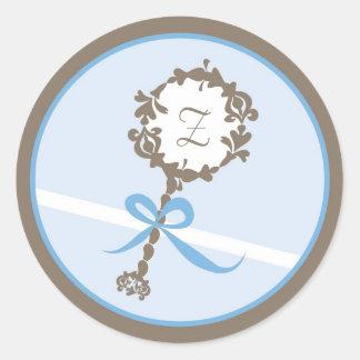 Baby Invitation or Favor Sticker