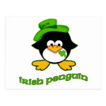 Baby Irish Penguin Postcard