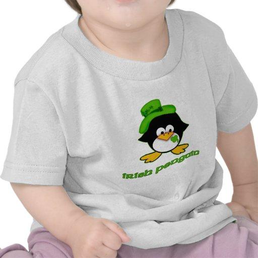 Baby Irish Penguin Tee Shirts