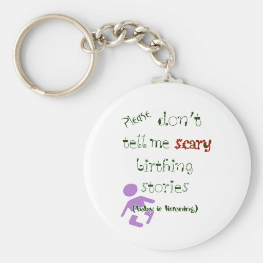 Baby Is Listening! Key Chains