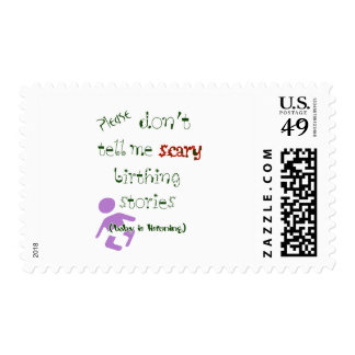 Baby Is Listening! Postage Stamps